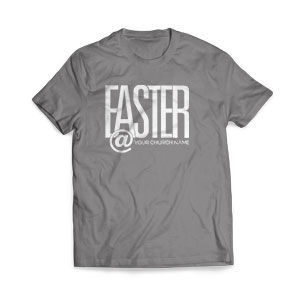 Easter At Church Name T-Shirts