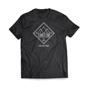 Summer Camp Mountains T-Shirts