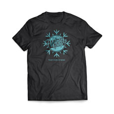 Winter Camp Snowflake T-Shirt