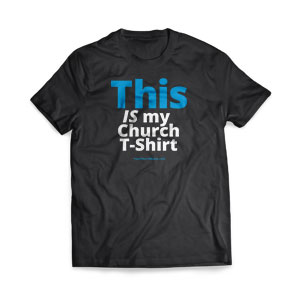 This Is My Church Shirt T-Shirts