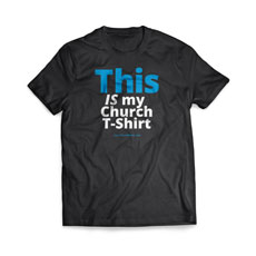 This Is My Church Shirt T-Shirt