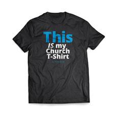 This Is My Church Shirt T-Shirt