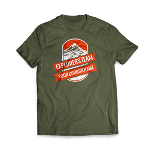 Mountains Explorer - Large Customized T-shirts