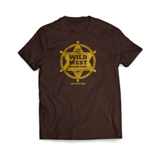 Sheriff Badge T-Shirt