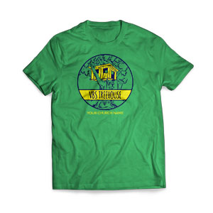 Treehouse - Large Customized T-shirts