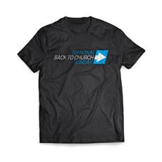 Back to Church Sunday Arrow T-Shirt
