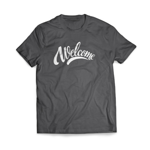 Welcome Cursive T-Shirts