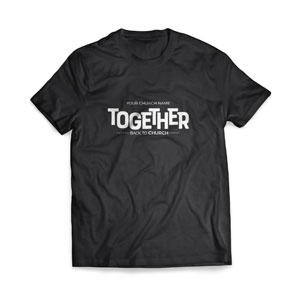 BTCS Together - Large Customized T-shirts