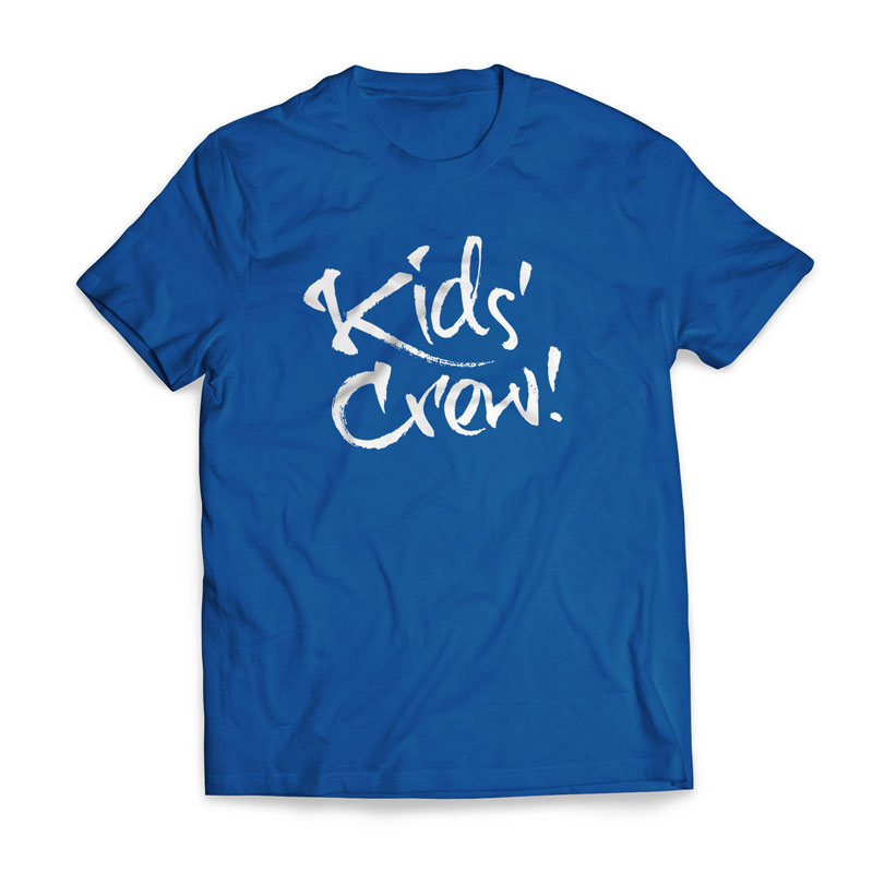 T-Shirts, Kid's Crew - Large, Large (Unisex)