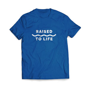 Baptism Raised to Life - Large Apparel