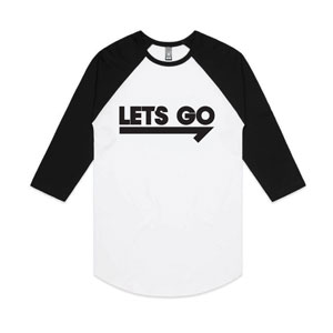 Go2020 Let's Go White - Large Apparel