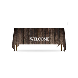 Rustic Charm Welcome Table Throws