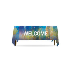 Modern Mosaic Welcome Table Throws