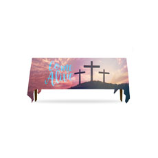 Come Alive Easter Journey Table Throw