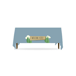 Woodland Friends Welcome Table Throws