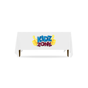 Marquee Kidz Zone Logo Table Throws