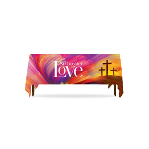 No Greater Love Table Throws