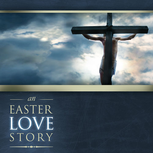 Banners, Easter, Easter Love Story, 3' x 3'