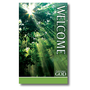 Nature Welcome 3 x 5 Vinyl Banner