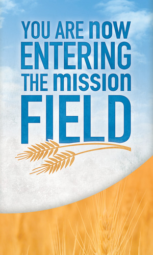 Mission Field Banner Church Banners Outreach Marketing