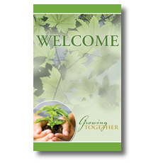 Growing Together Welcome Banner