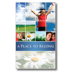 Belong Summer 3 x 5 Vinyl Banner