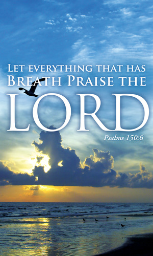 Breath Praise Lord Banner Church Banners Outreach