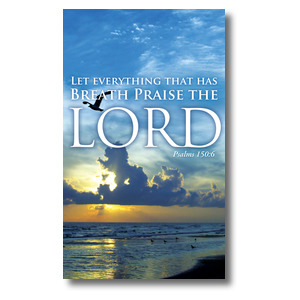 Breath Praise Lord - 3 x 5  3 x 5 Vinyl Banner