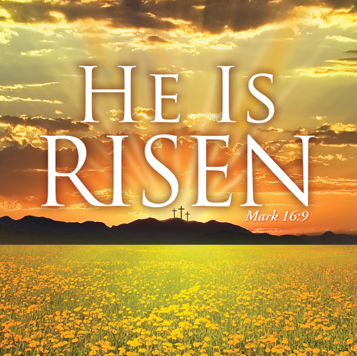 He Is Risen Banner Church Banners Outreach Marketing