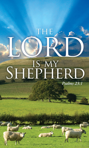Lord My Shepherd Banner Church Banners Outreach Marketing