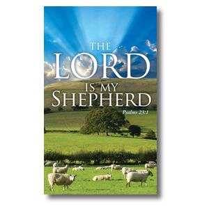 Lord My Shepherd - 3 x 5
