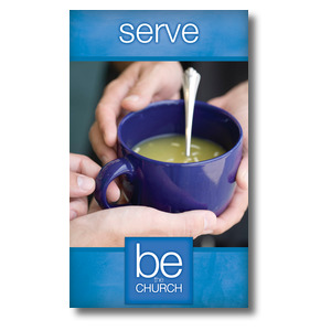 Be The Church Serve 3 x 5 Vinyl Banner