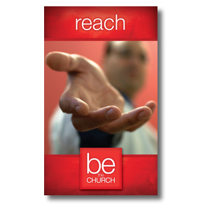 Be The Church Reach 3 x 5 Vinyl Banner