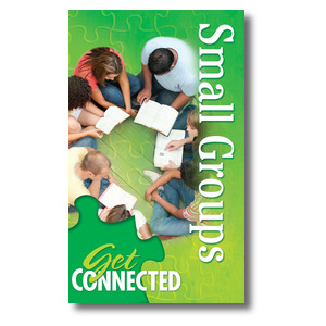 Youre Connected Small Groups 3 x 5 Vinyl Banner