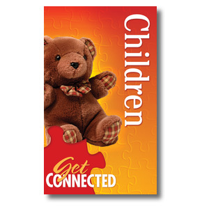 Youre Connected Children 3 x 5 Vinyl Banner