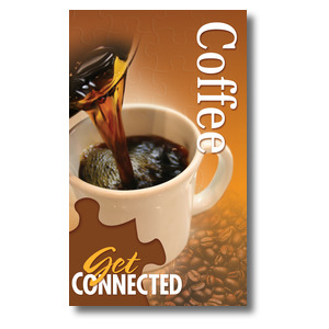 Youre Connected Coffee 3 x 5 Vinyl Banner