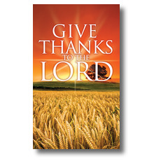 Give Thanks Lord Banner