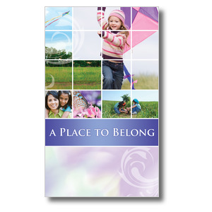 Belong Kite 3 x 5 Vinyl Banner