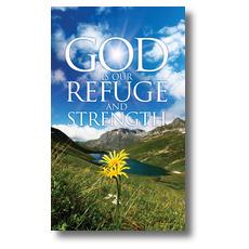 Refuge and Strength Banner