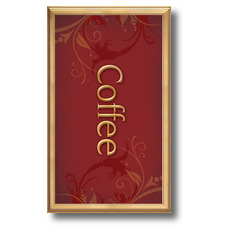 Frames Coffee Banner