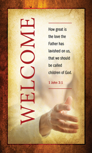 Verses Welcome Banner Church Banners Outreach Marketing
