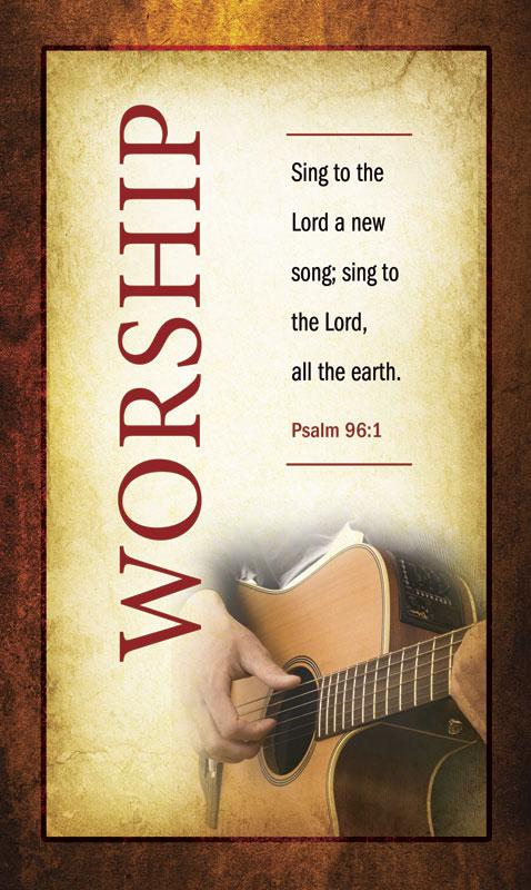Church Banner Verses Worship 3 X 5 Outreach Marketing