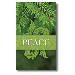Together for the Holidays Peace 3 x 5 Vinyl Banner