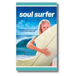 Soul Surfer Movie Event 3 x 5 Vinyl Banner