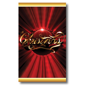 Christmas Red Ornament Banners