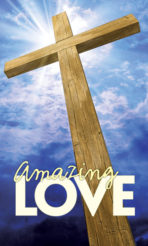 Banners, Easter, Amazing Love, 3 x 5