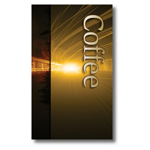 Light Rays Coffee Banners