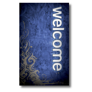 Adornment Welcome 3 x 5 Vinyl Banner