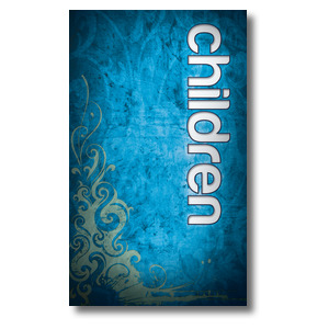 Adornment Children 3 x 5 Vinyl Banner