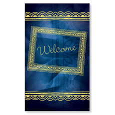 Borders Welcome Banner
